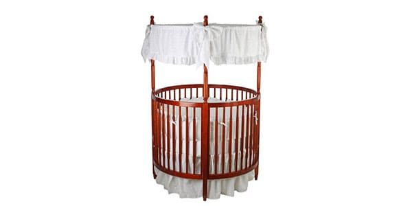 Round-baby-crib-with-canopy