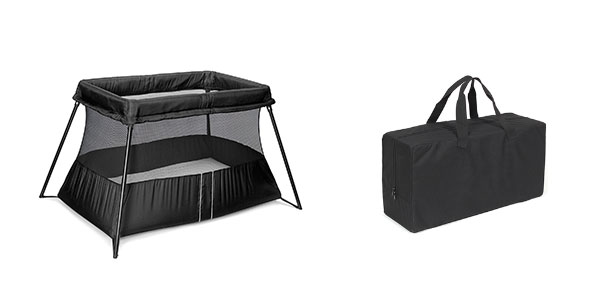 Travel-crib-and-bag-for-baby