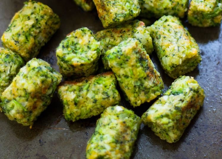 Easy way to help your toddler eat more vegetables – broccoli tots recipe
