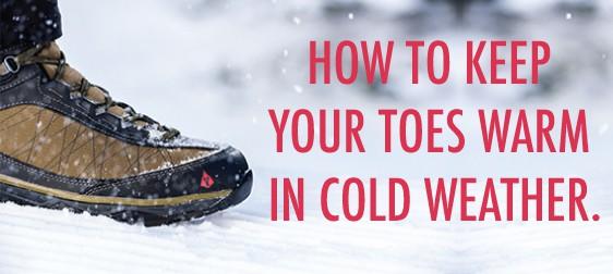Keep Your Feet Warmon winter