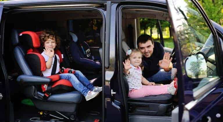Travel with Kids on VW Cars